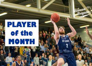 Tayler Persons, Player of the Month! (foto: Marja van Tilburg)