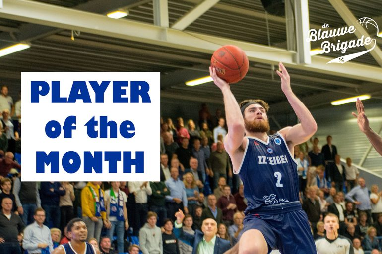 Tayler Persons, Player of the Month! (foto: Marja van Tilburg)